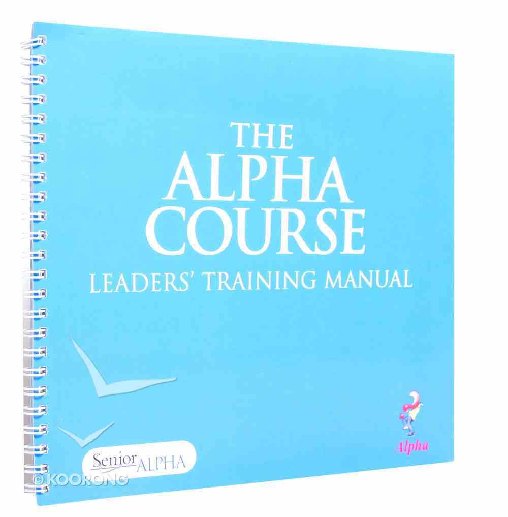 Leaders' Guide (Large Print) (Alpha Course) Paperback