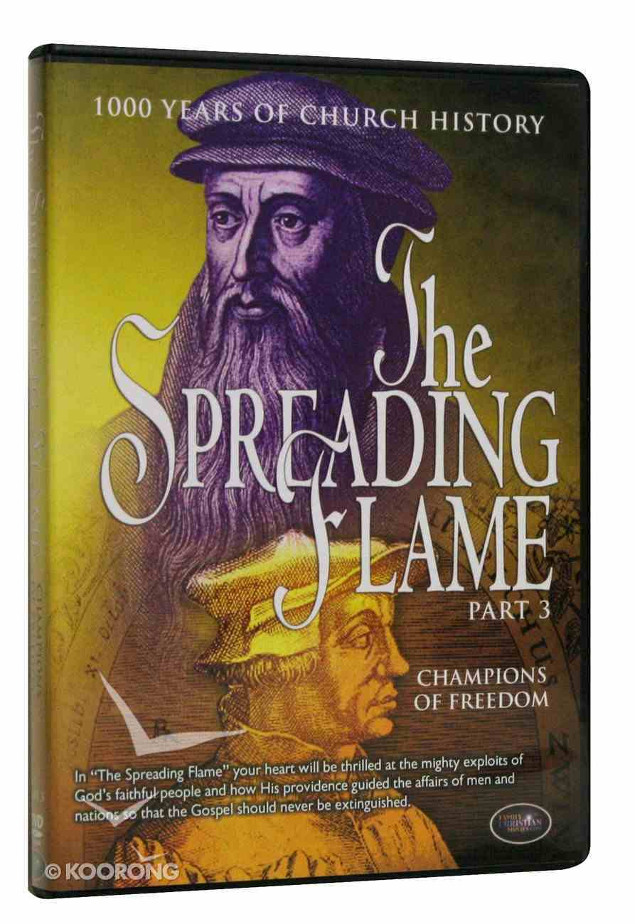 Champions of Freedom (#03 in The Spreading Flame Series) DVD