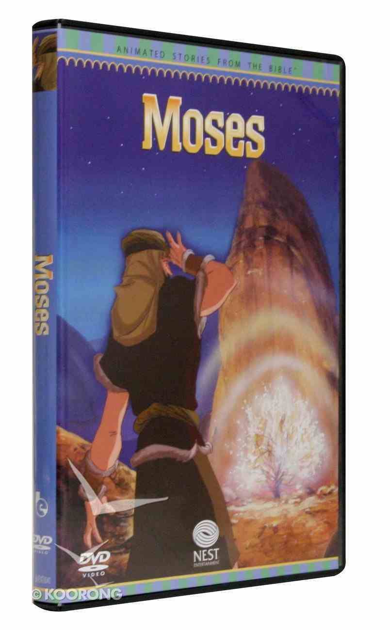 Animated Stories From the Bible: Moses DVD