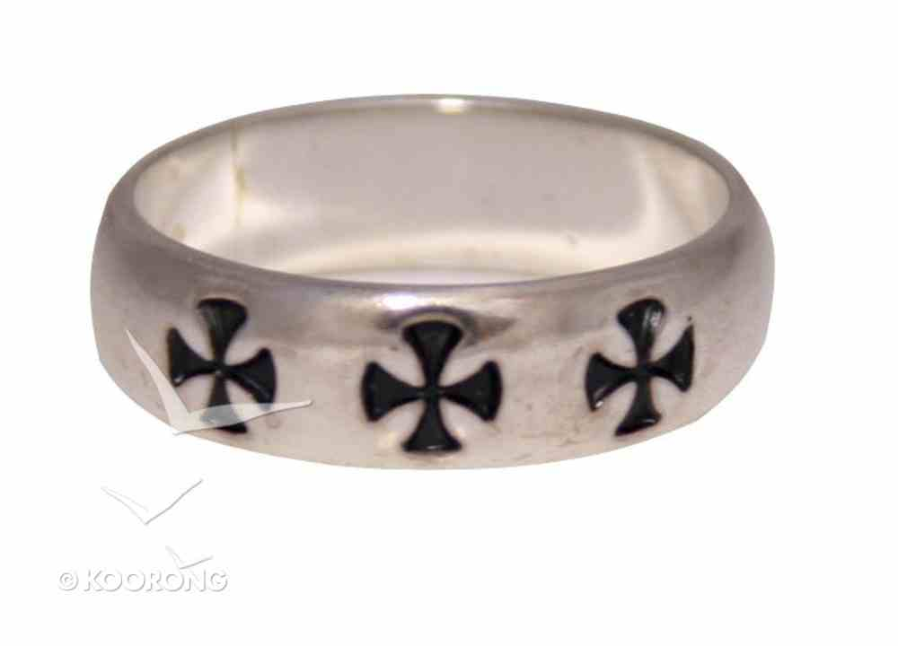 Ring: Cross Patee Size 09 (Sterling Silver) Jewellery