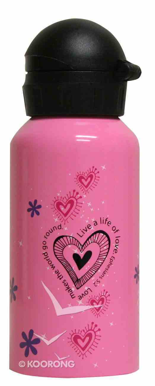 Water Bottle 400ml Stainless Steel: Little Miss Grace (Hand Wash Only) Homeware