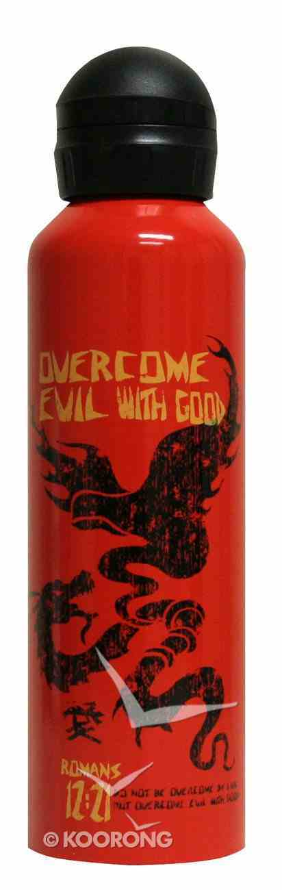 Water Bottle 750ml Stainless Steel: Overcome Evil With Good Homeware