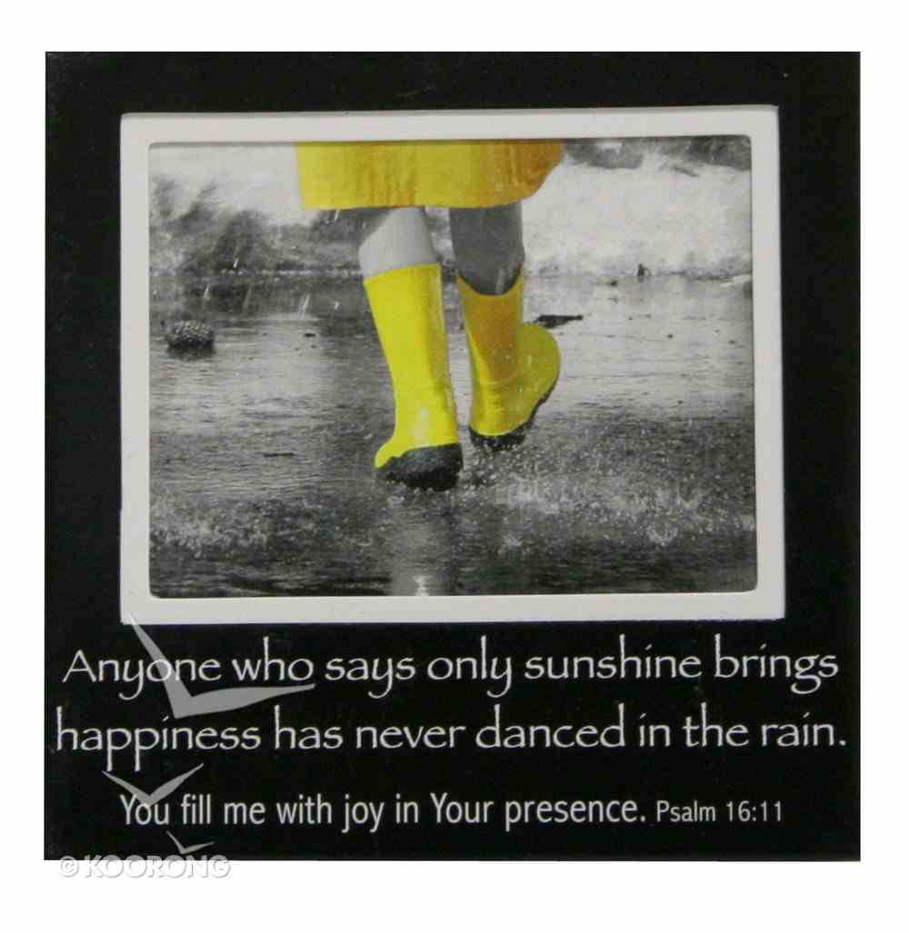 Magnetic Picture Frame: Yellow Gumboots Novelty