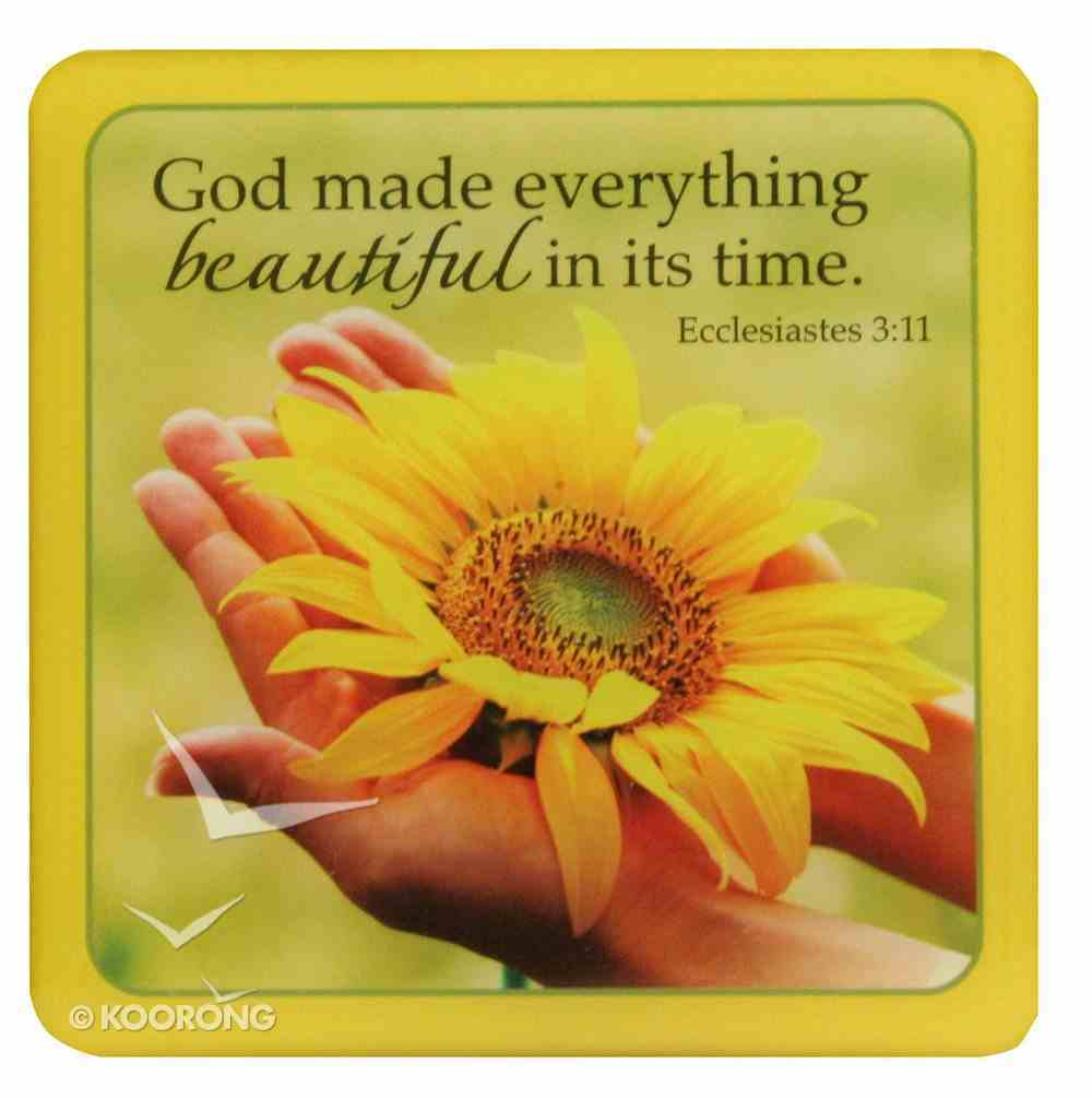 Meaningful Magnet: Yellow Sun Flower Novelty