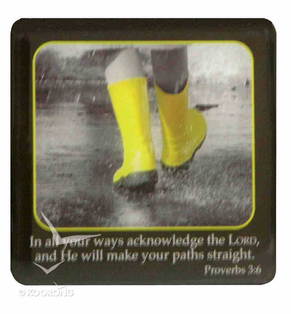 Meaningful Magnet: Yellow Gum Boots Novelty