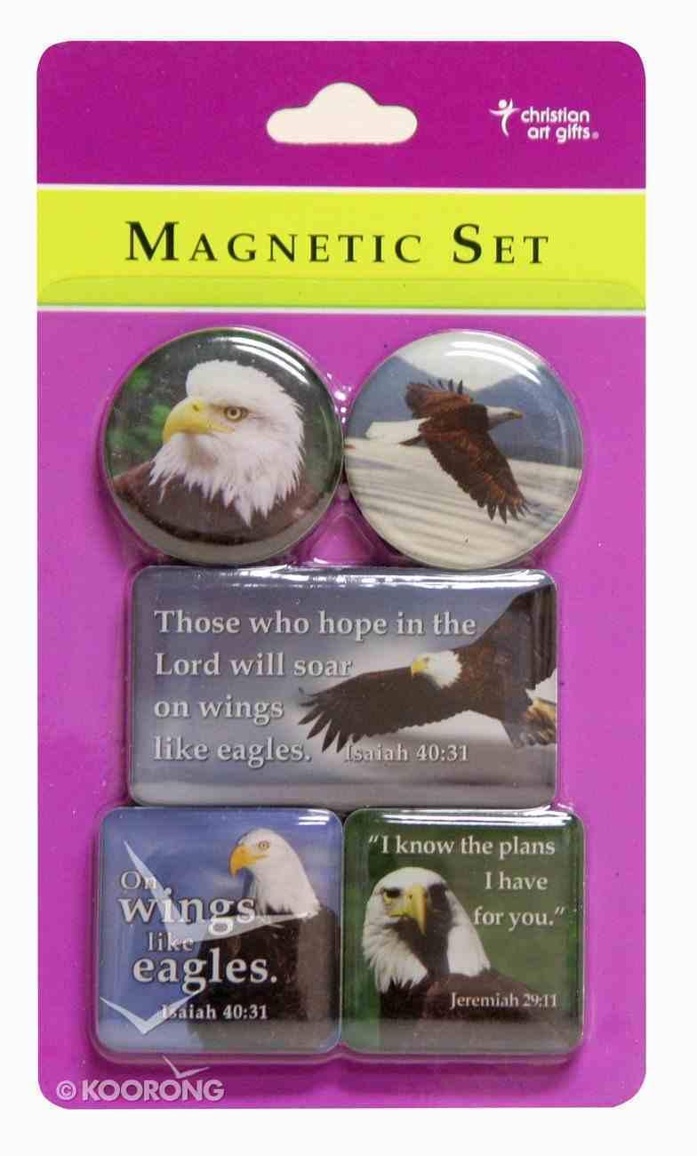 Magnetic Set of 5 Magnets: Eagle Novelty
