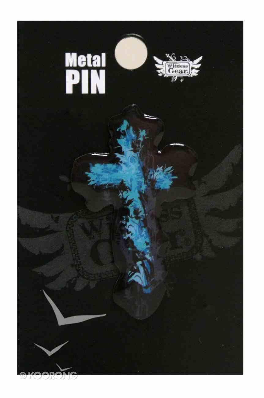 Witness Gear Metal Pin: Blue Cross Jewellery