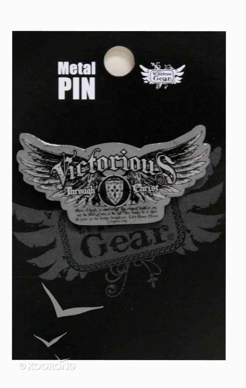 Witness Gear Metal Pin: Victorious Jewellery