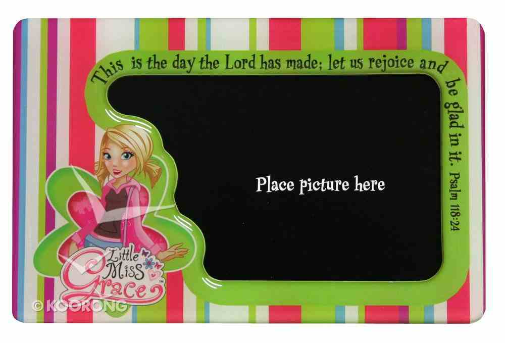 Little Miss Grace: Magnetic Photo Frame (Stripes) Novelty