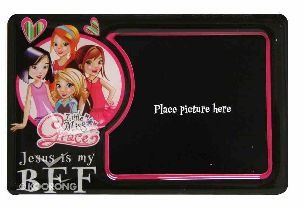 Little Miss Grace: Magnetic Photo Frame (Black) Novelty