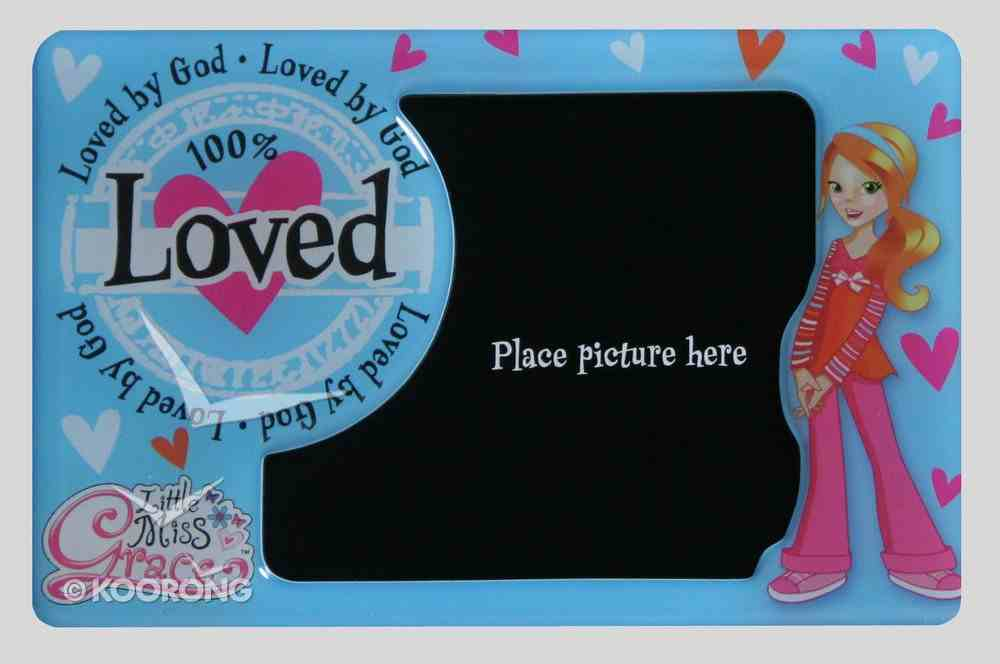 Little Miss Grace: Magnetic Photo Frame (Blue) Novelty