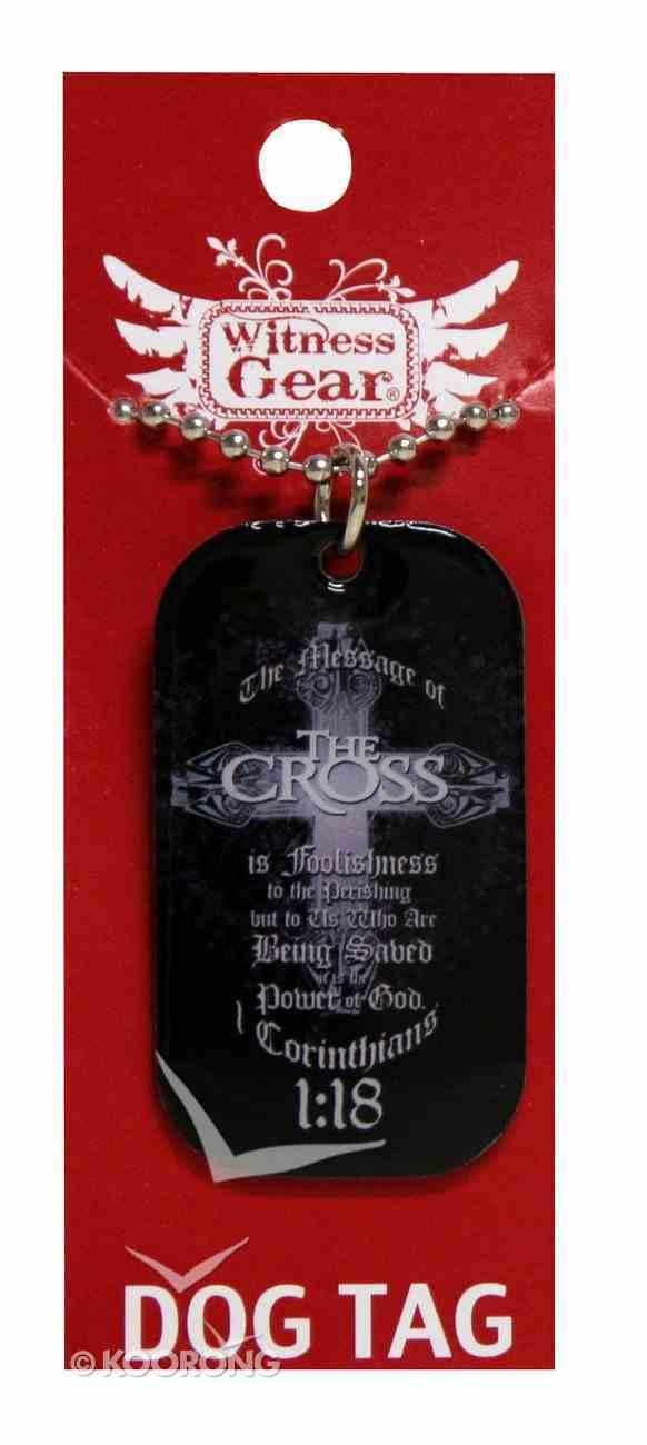 Witness Gear Dog Tags: The Cross Jewellery