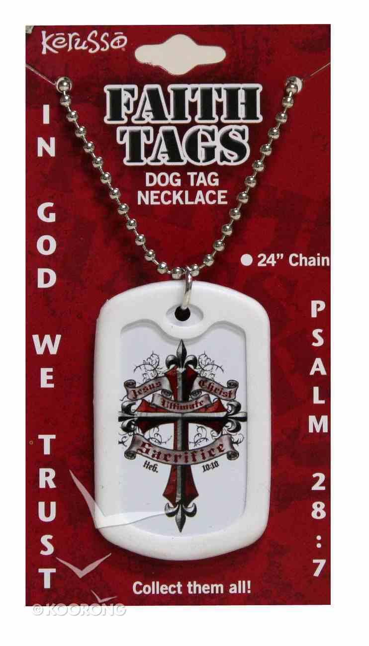 Faith Dog Tag Sacrifice 2 Jewellery