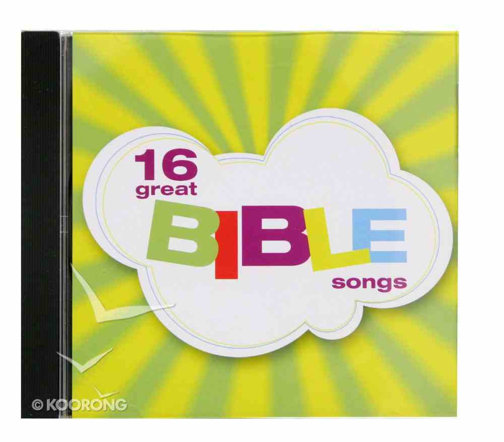 16 Great Bible Songs CD