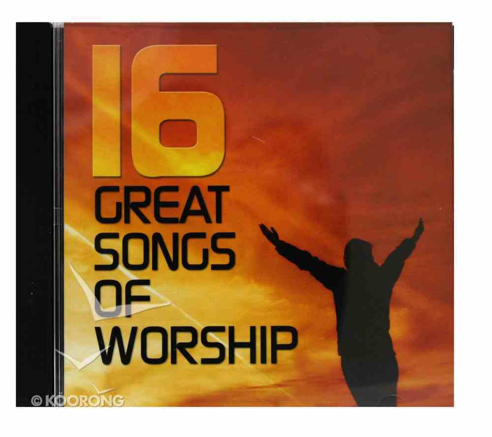 16 Great Songs of Worship CD