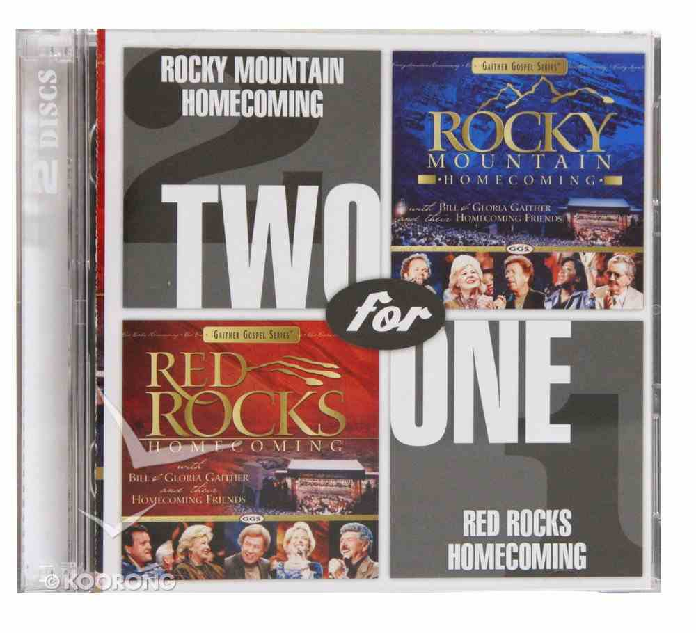 Rocky Mountain Homecoming/ Red Rocks Homecoming (Gaither 2 For 1 Series) CD