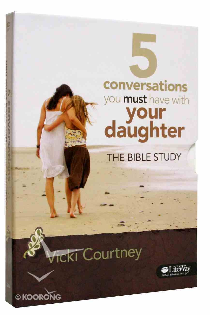 5 Conversations You Must Have With Your Daughter (Dvd Leader Kit) Pack