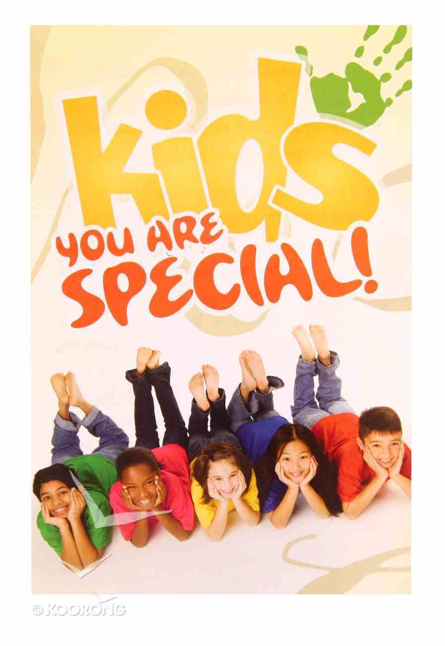 Kids, You Are Special (Pack Of 25) Booklet