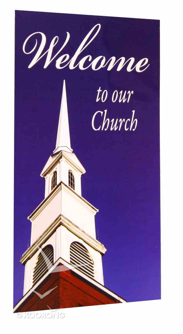 Welcome to Our Church (Pack Of 25) Booklet