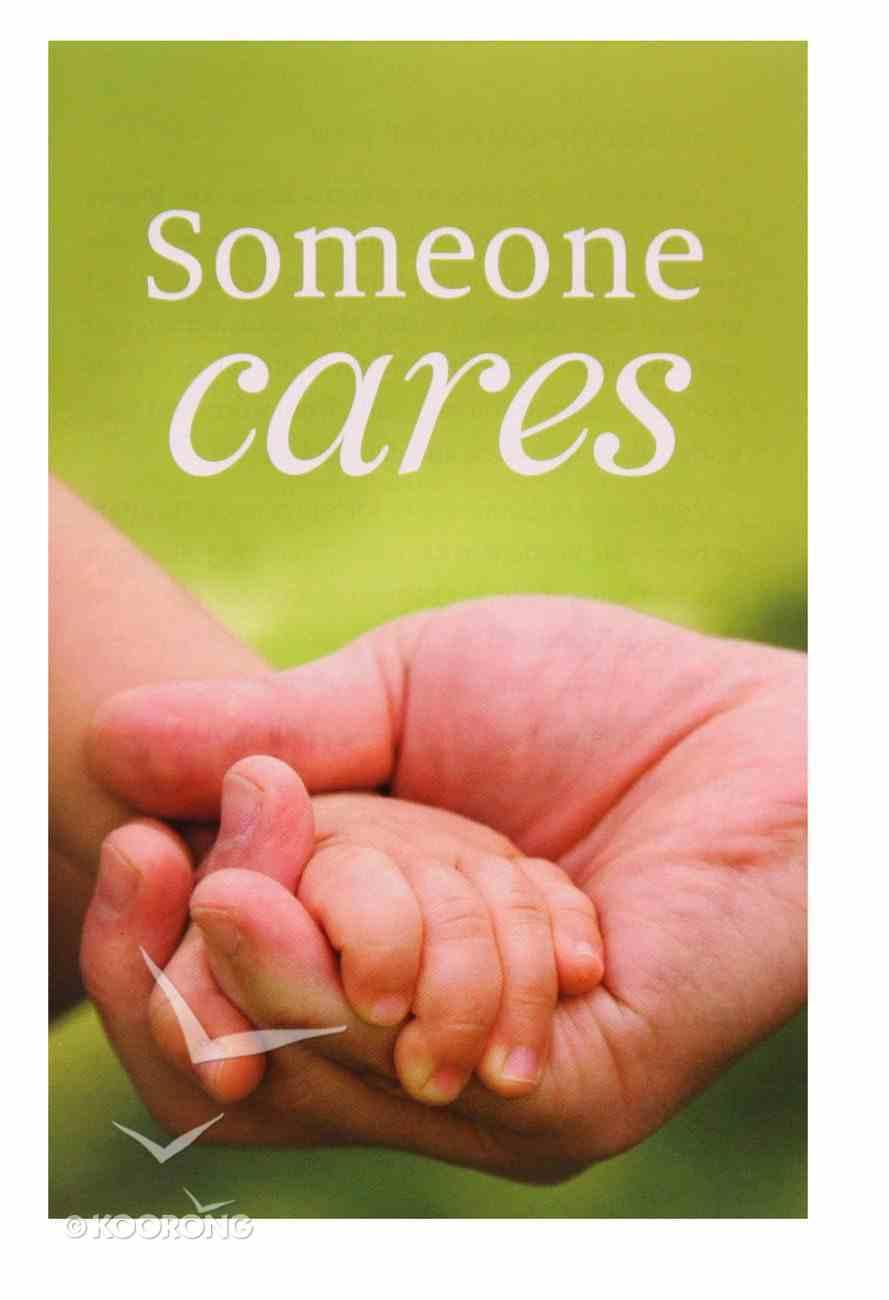 Someone Cares KJV (Pack Of 25) Booklet