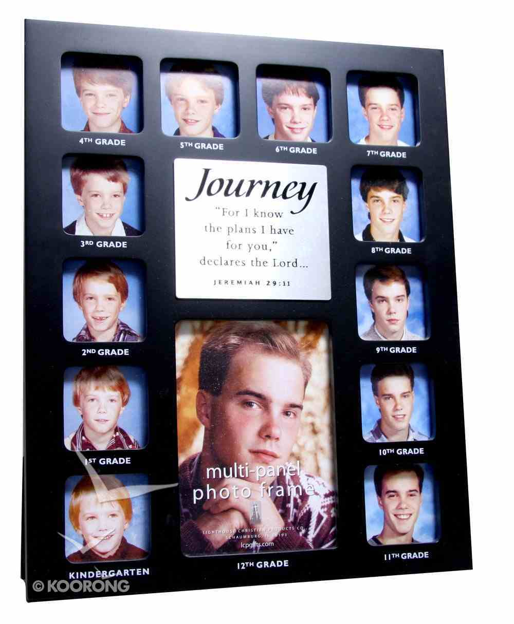 Photo Frame Collage Black: Journey Through the Years Jeremiah 29:11 Homeware