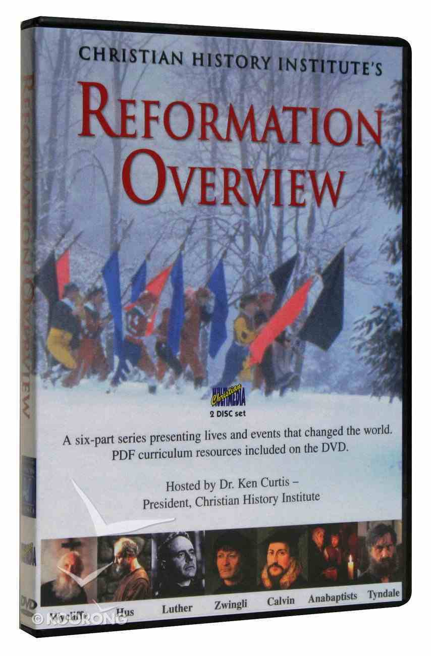 Reformation Overview DVD (With Pdf's) DVD