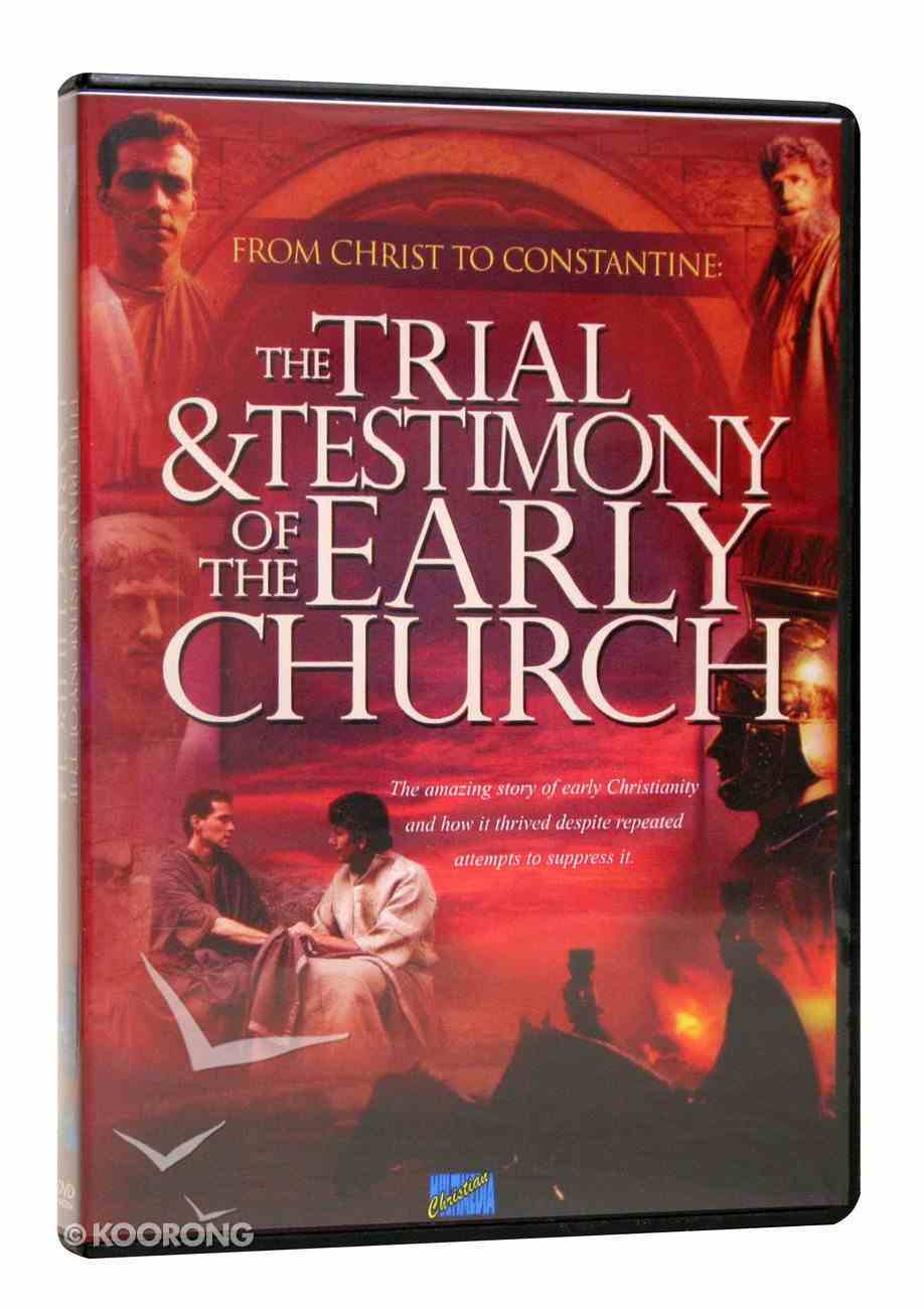 Trial and Testimony of the Early Church (With Pdf's) DVD