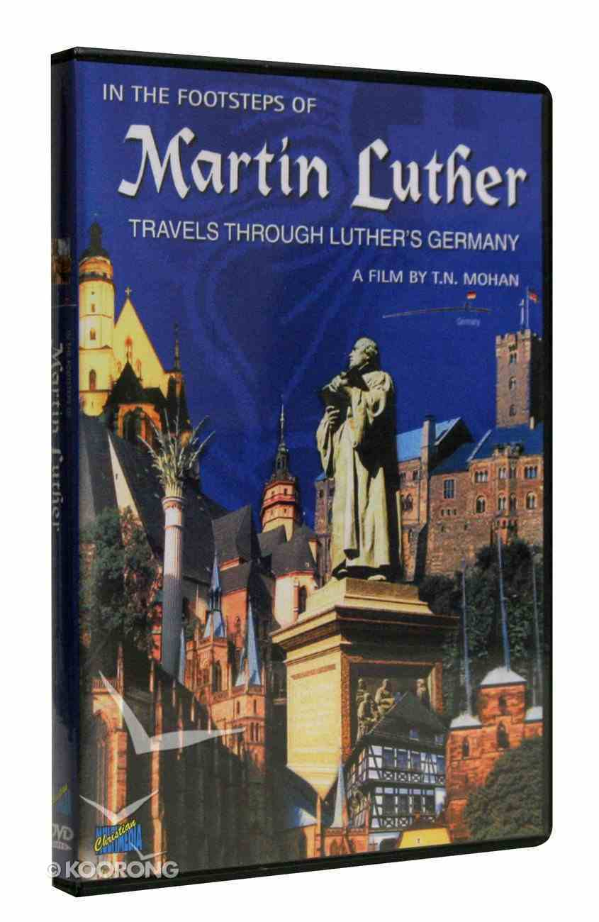 In the Footsteps of Martin Luther DVD