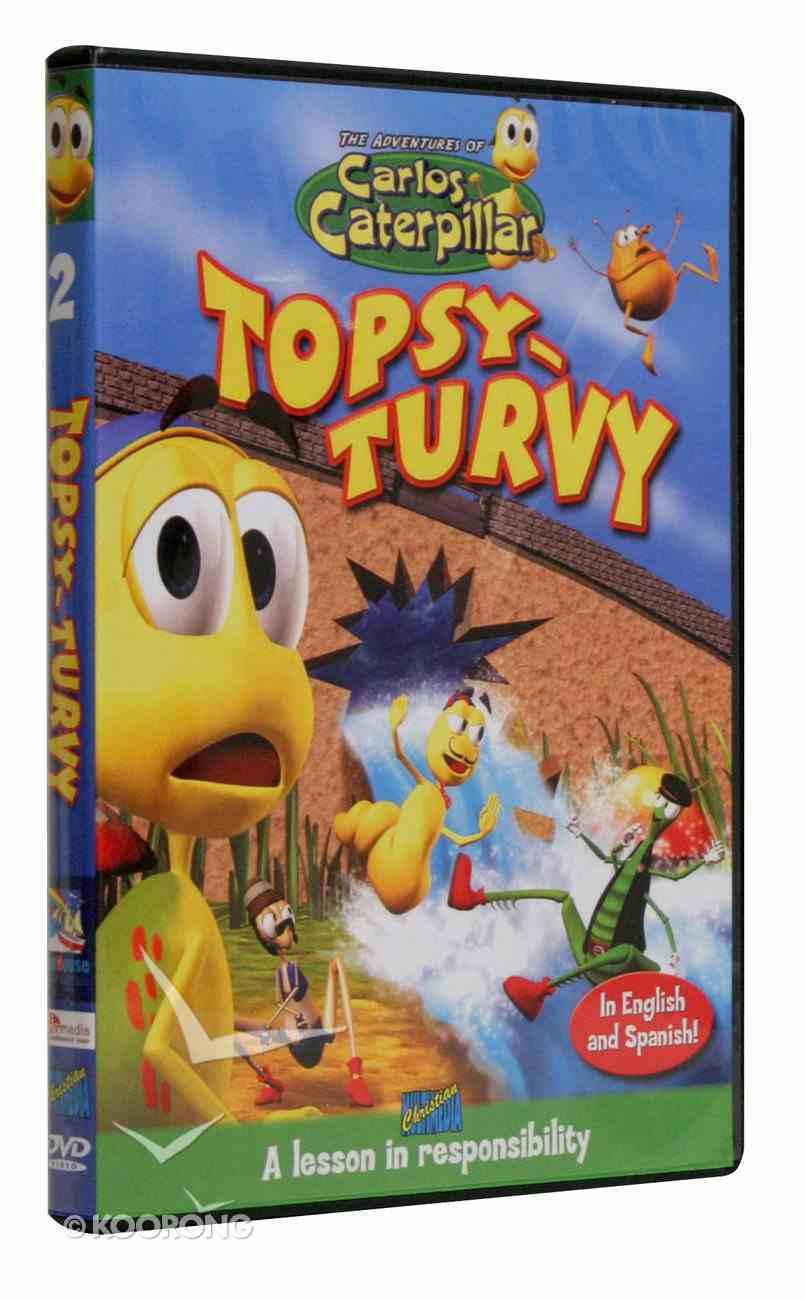 Carlos Caterpillar: Topsy-Turvy DVD