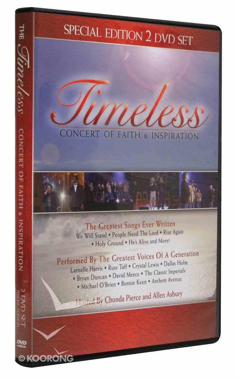 Timeless: Concert of Faith & Inspiration DVD