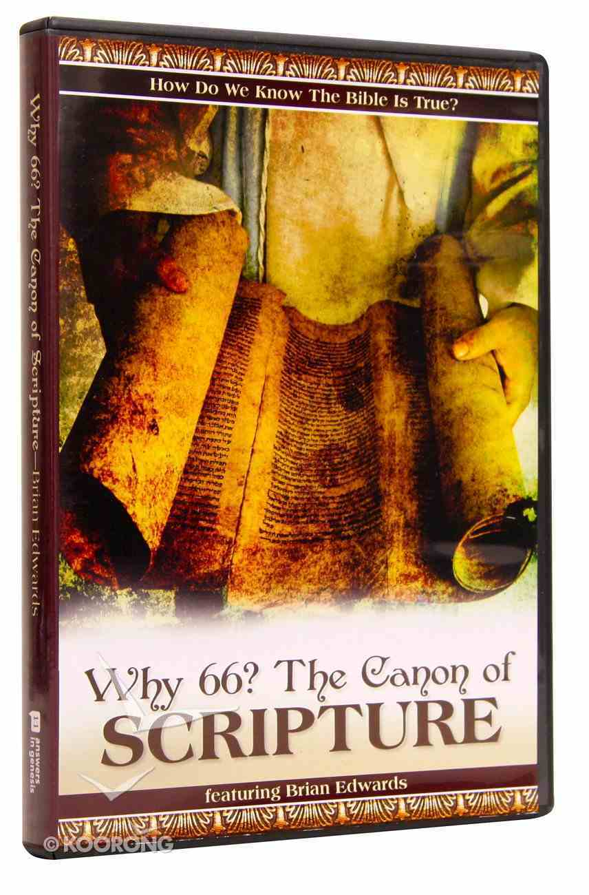 Why 66? the Canon of Scripture (54 Mins) DVD