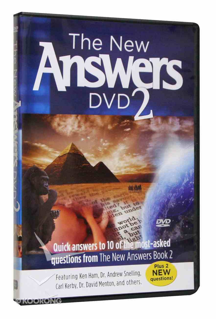 The New Answers Book 2 DVD