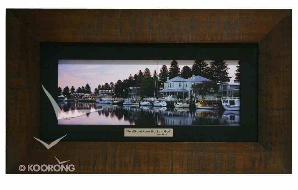 Clancy Haven Framed Photo: Port Fairy Plaque