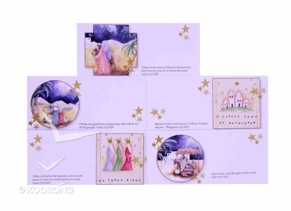 Christmas Gift Tags Pack of 20: 4 Each of 5 Designs Cards
