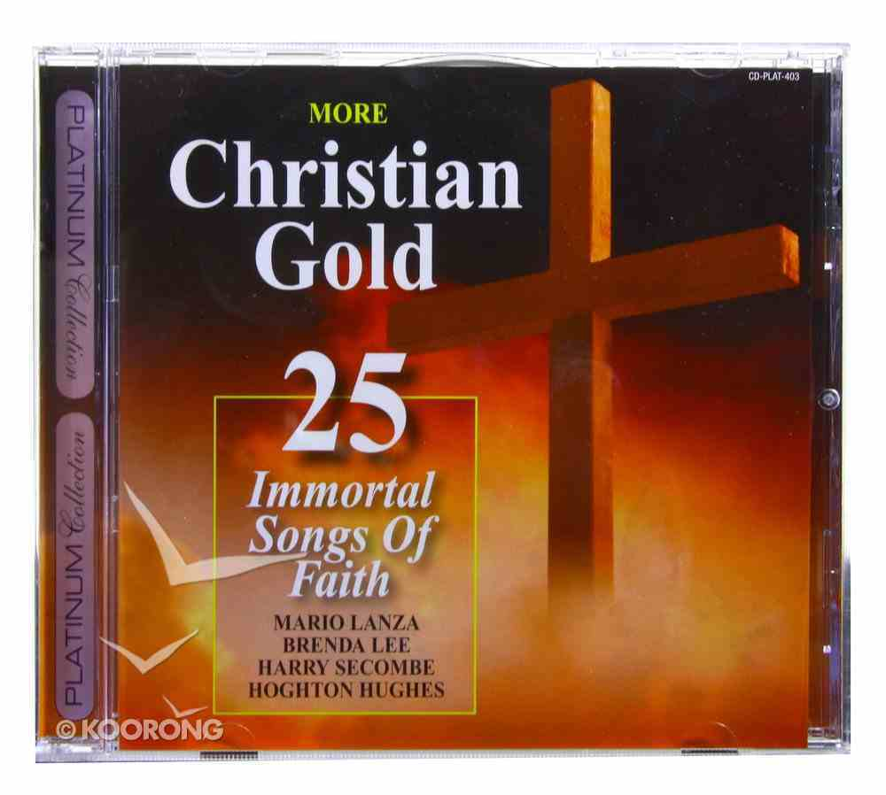 Platinum Collection: More Christian Gold CD
