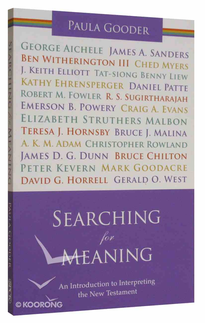 Searching For Meaning Paperback