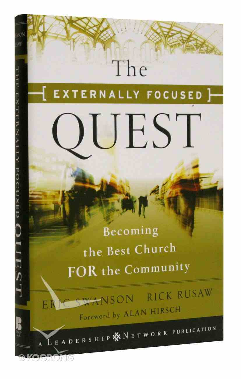 The Externally Focused Quest Hardback