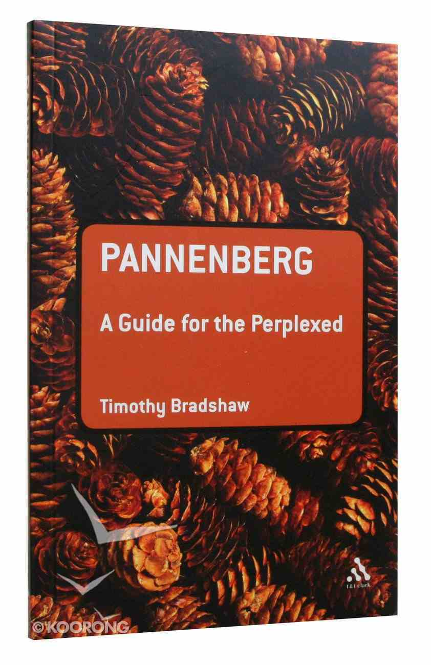 Pannenberg (Guides For The Perplexed Series) Paperback