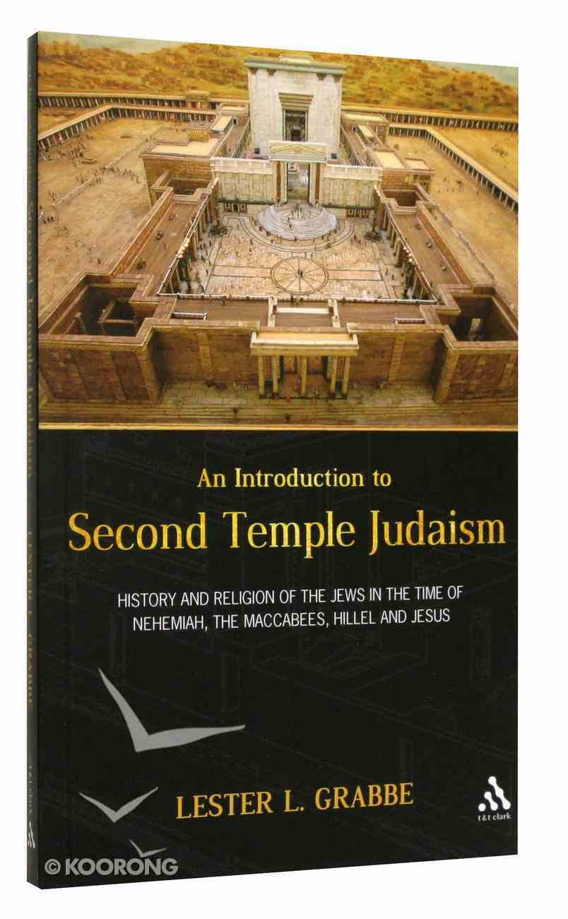 An Introduction to Second Temple Judaism Paperback