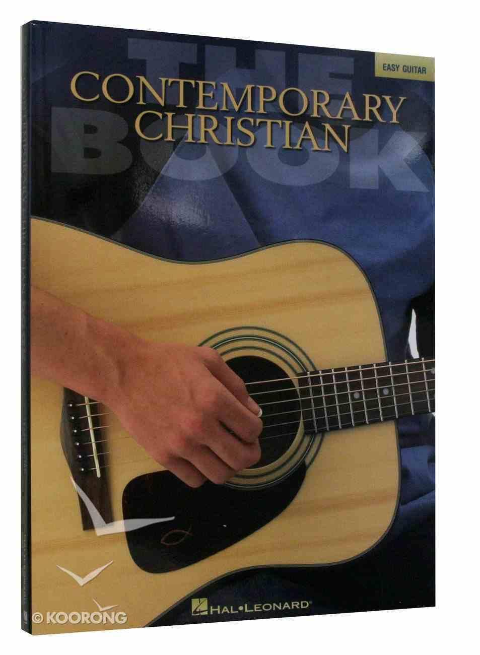 Contemporary Christian Music Book - Easy Guitar (Music Book) Paperback