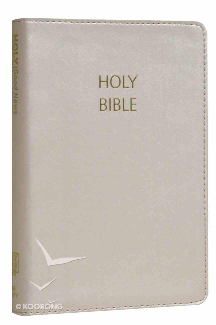 GNB Compact Bible Satin Ivory Imitation Leather