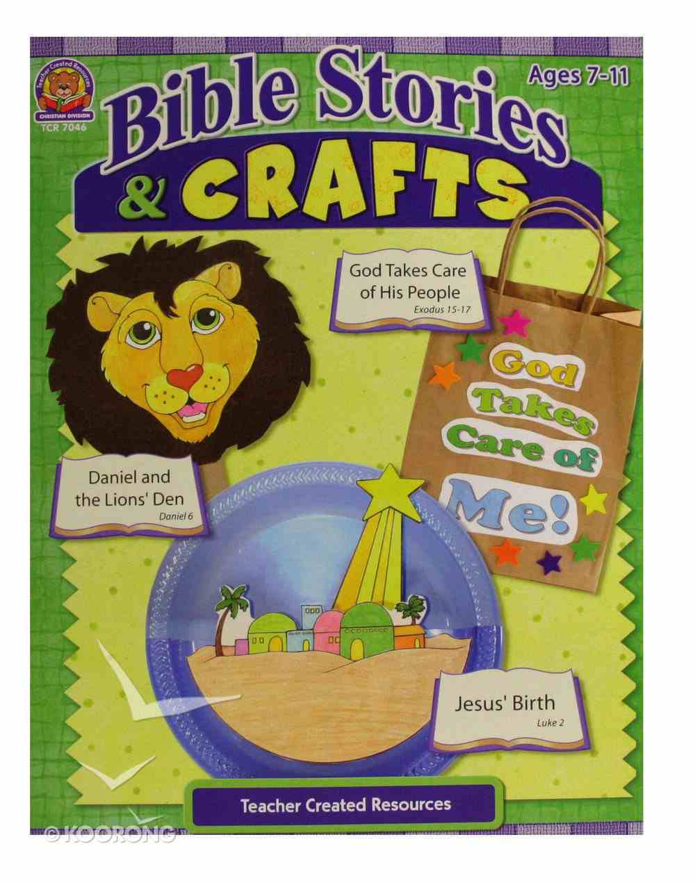 Bible Stories & Crafts: God Takes Care of Me (Teacher Created Resources Series) Paperback