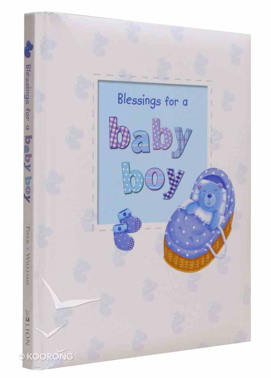 Blessings For a Baby Boy Hardback