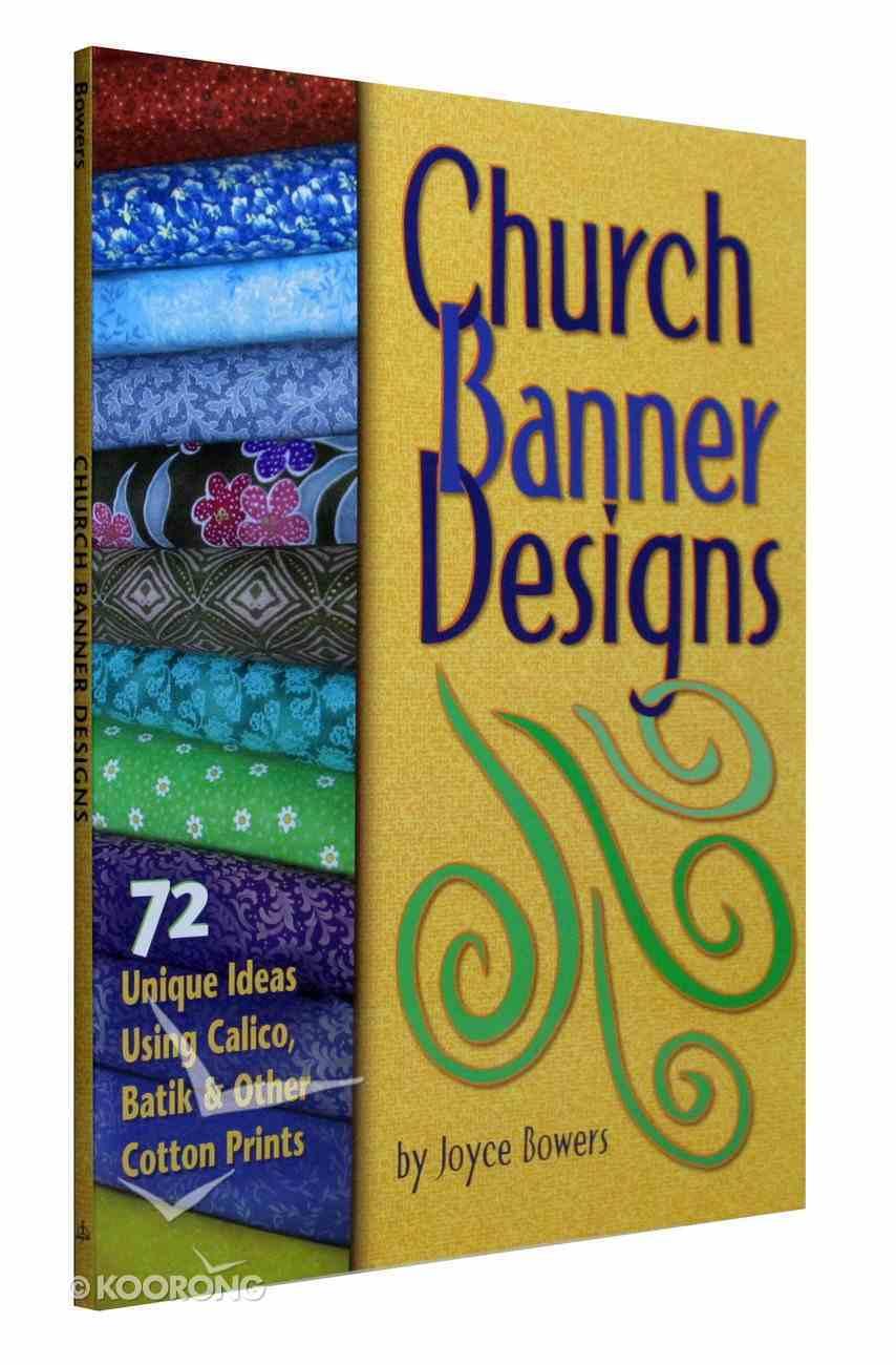 Church Banner Designs Paperback