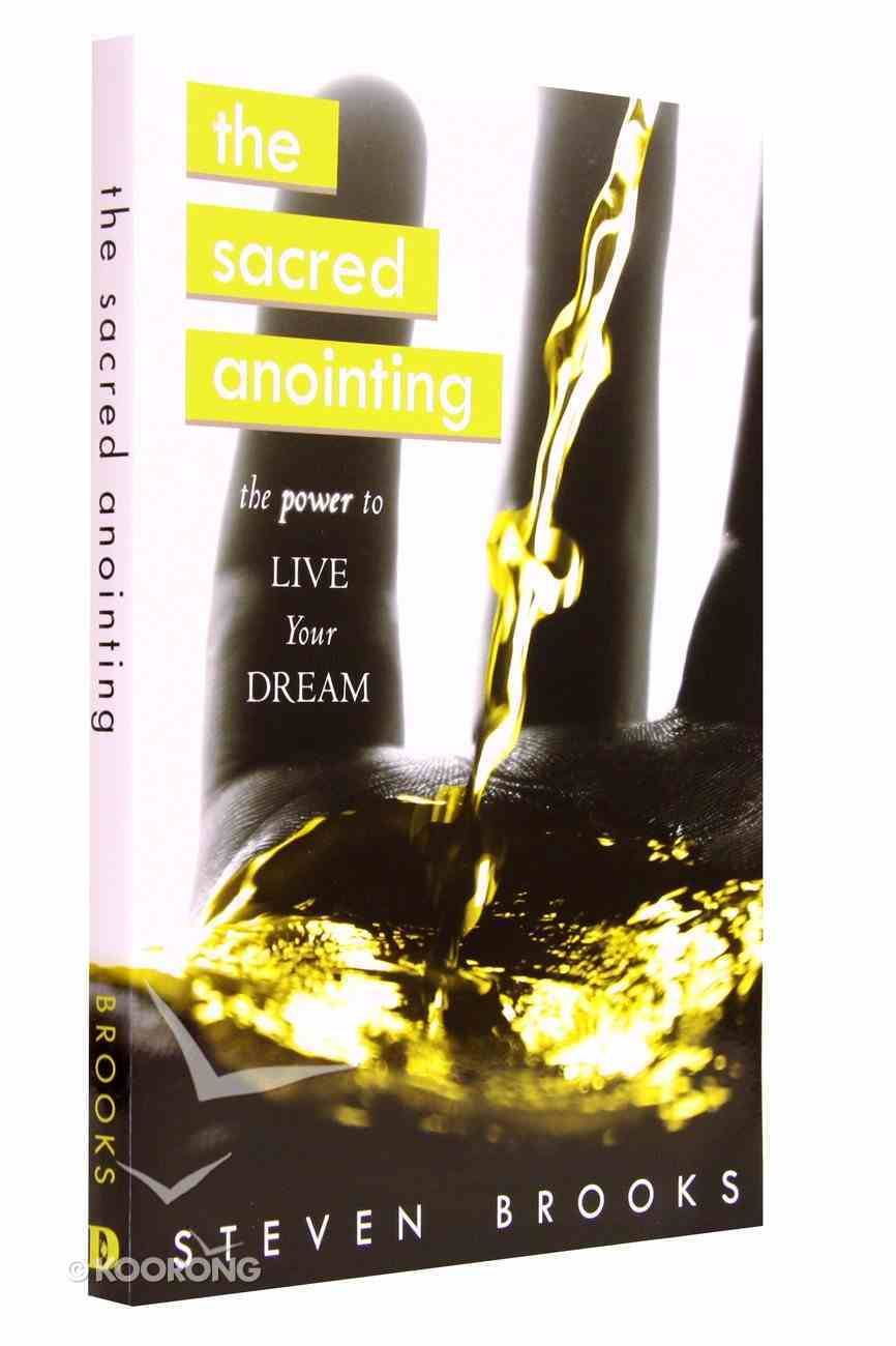 The Sacred Anointing Paperback