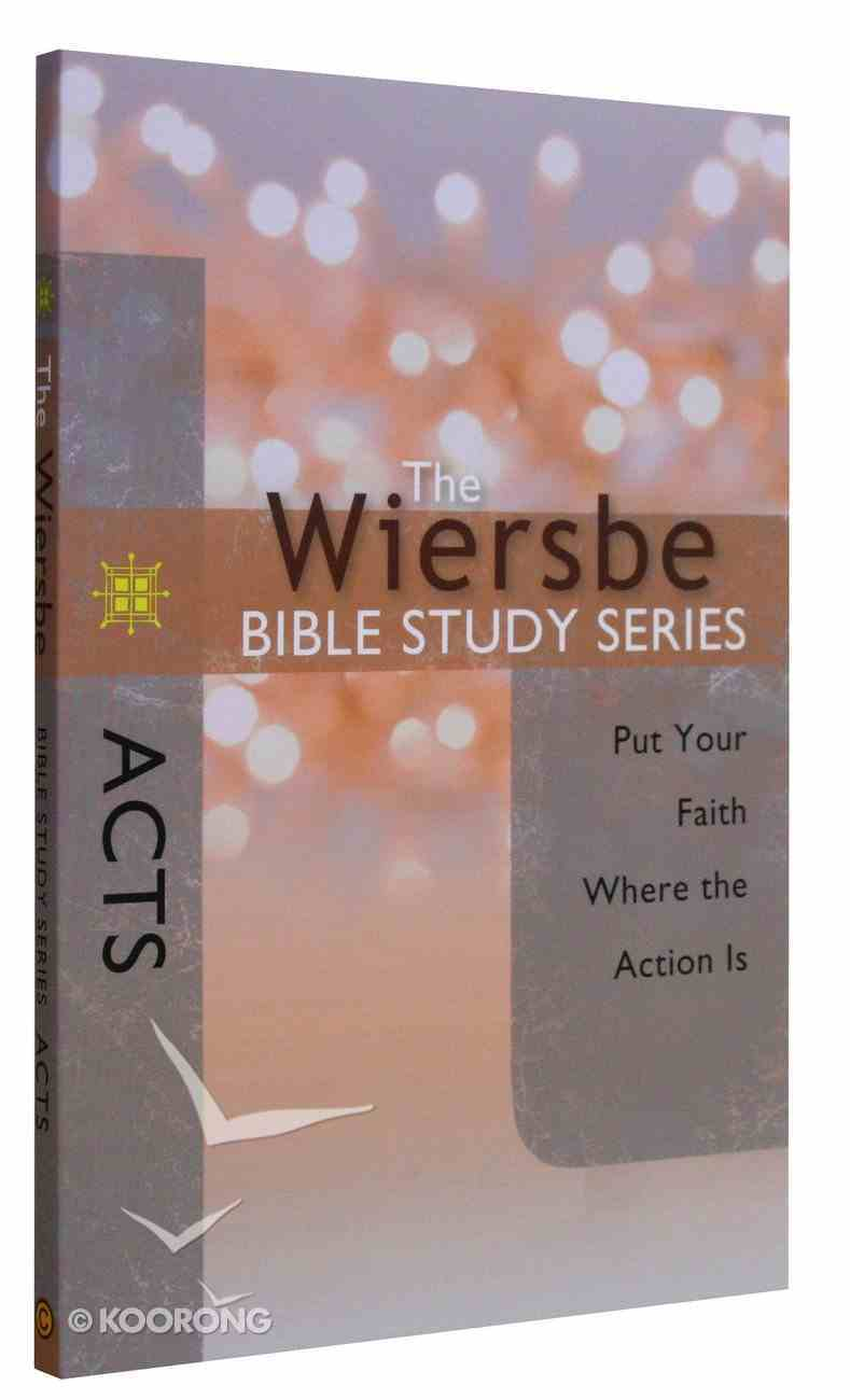 Acts (Wiersbe Bible Study Series) Paperback