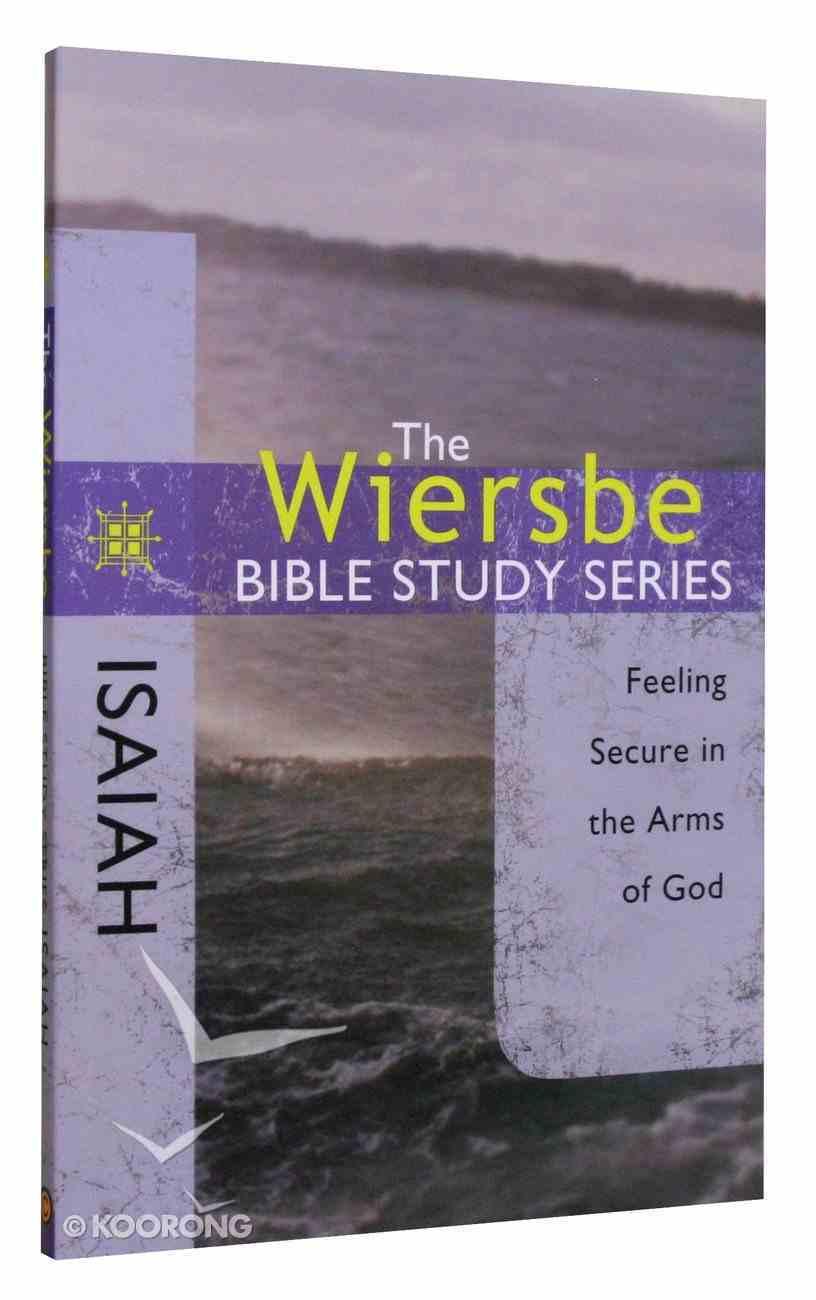 Isaiah (Wiersbe Bible Study Series) Paperback