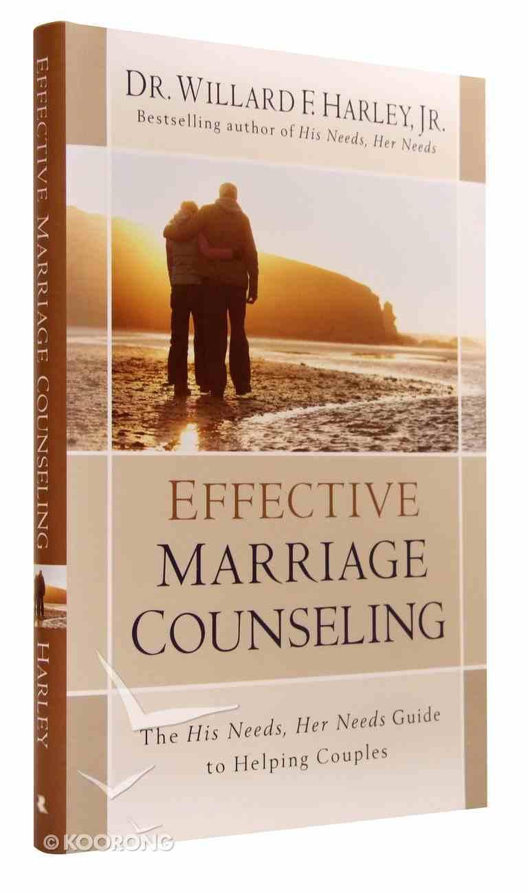 Effective Marriage Counseling Hardback