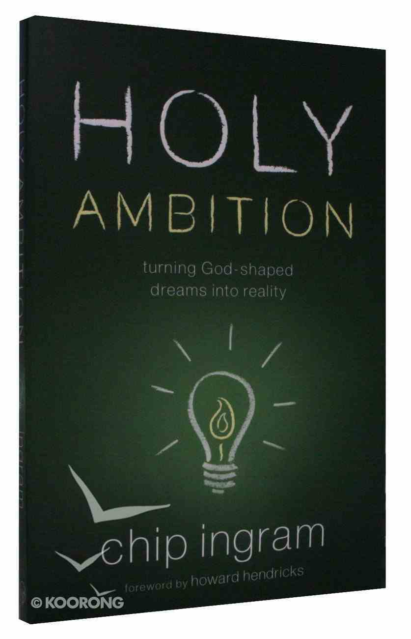 Holy Ambition Paperback