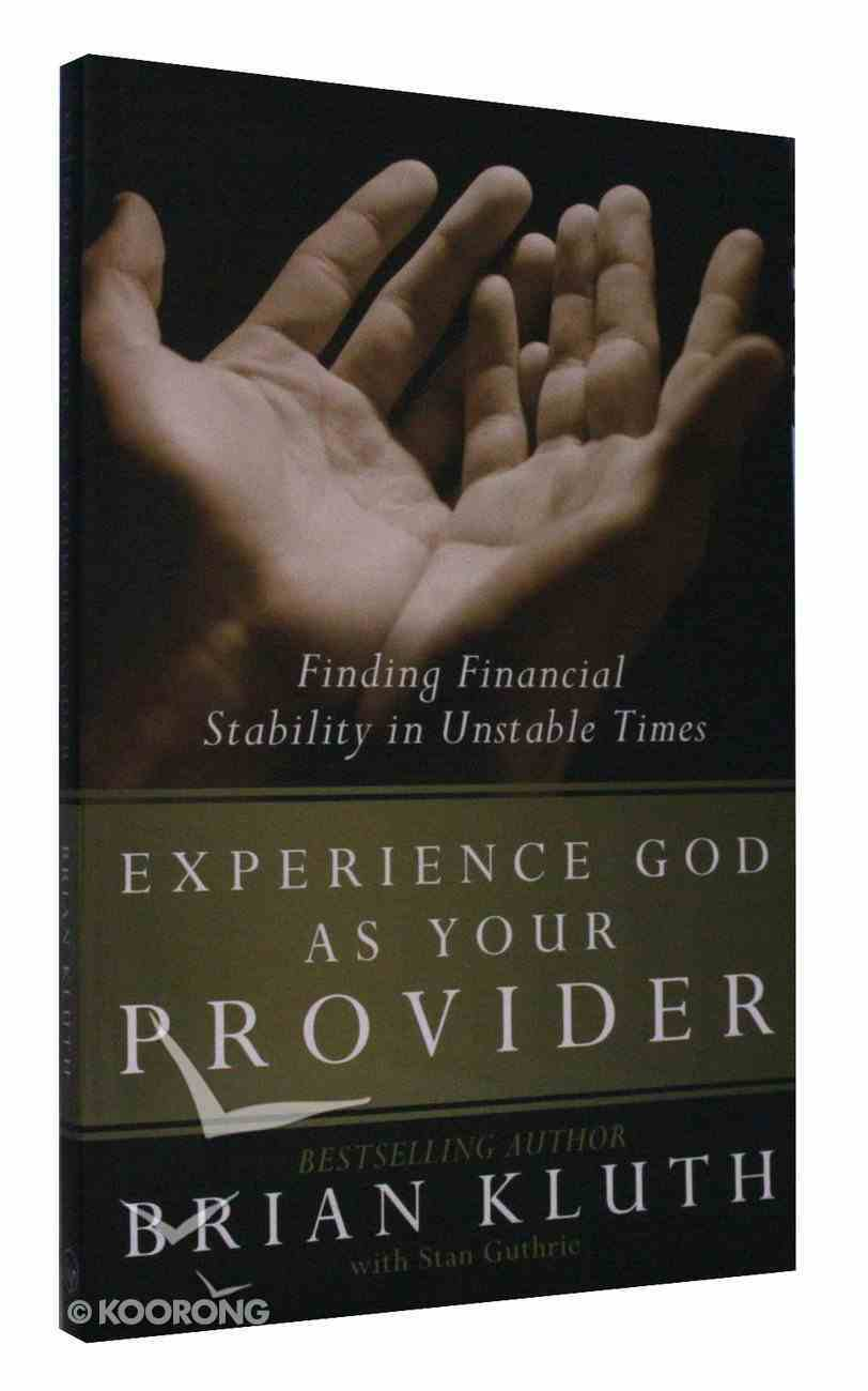 Experience God as Your Provider Paperback
